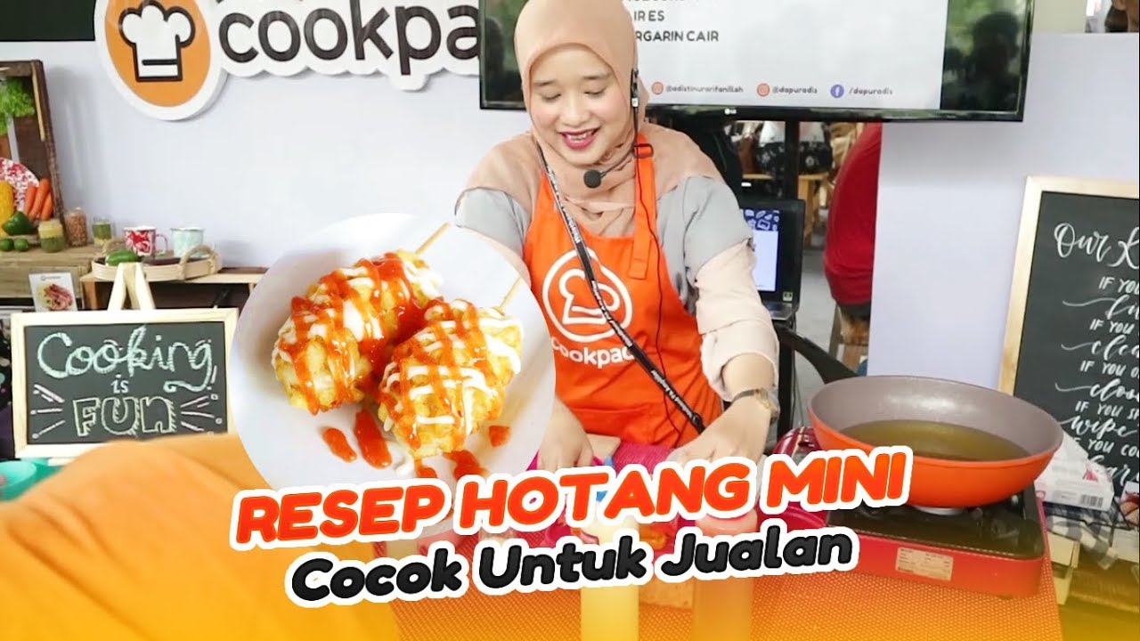 Resep Hotang Mini Ekonomis Cooking Demo With Cookpad At Jakarta Eat Festival 2018 Youtube