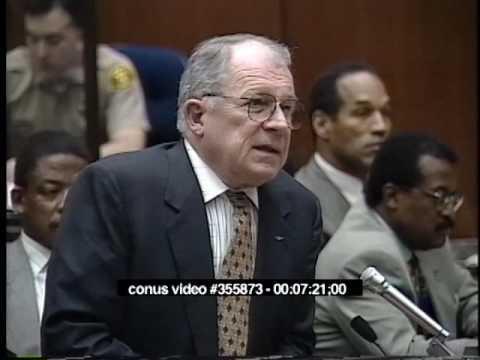 OJ Simpson Trial - March 15th, 1995 - Part 2 (Last part)