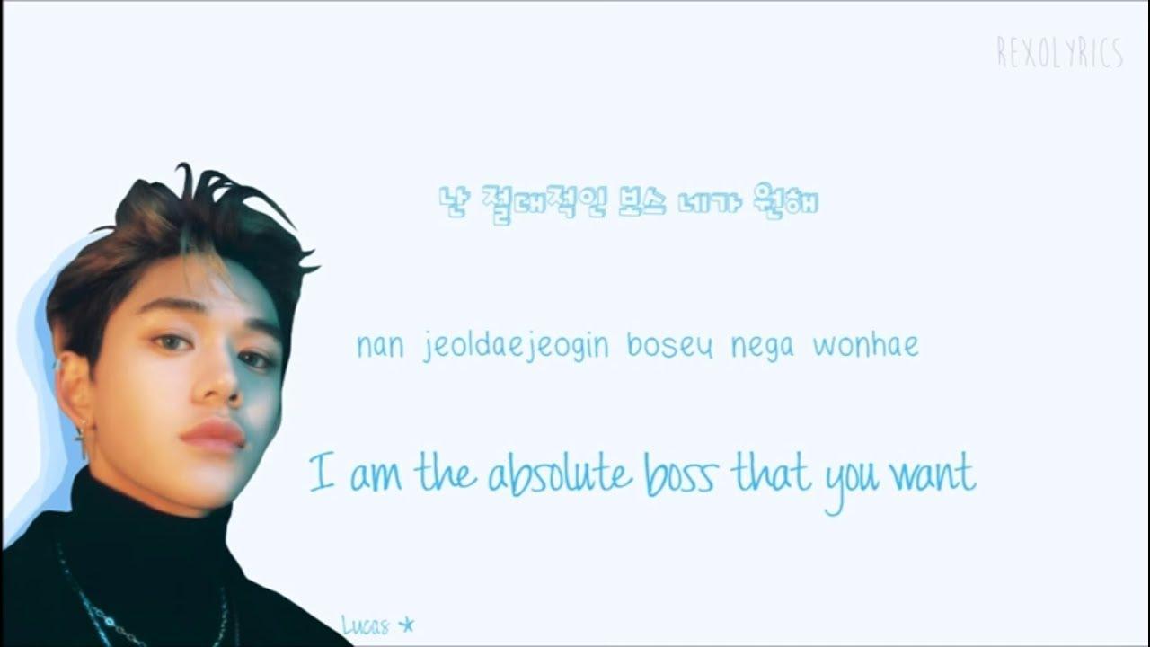 NCT U - BOSS Lyrics (Han|Rom|Eng) Color Coded