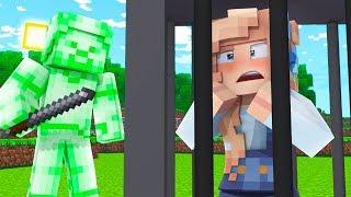 ZIELONY STEVE PORWAŁ MOJĄ DZIEWCZYNĘ!   Minecraft Ferajna