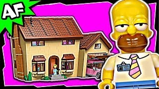 Lego SIMPSONS HOUSE 71006 Stop Motion Build Review