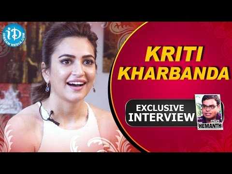 K​riti Kharbanda Exclusive Interview || Talking Movies With iDream # 27
