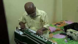 Maine Chand Aur Sitaron Instrumental Cover by Vinay M kantak