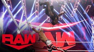 Reggie vs. Ricochet – 24/7 Championship Match: Raw, Sept. 27, 2021
