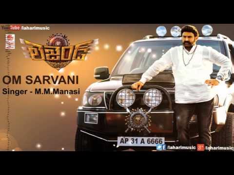 Legend Songs | Om Sarvani Full Song | Balakrishna