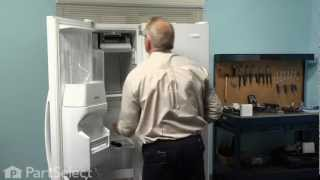 Refrigerator Repair- Replacing the Ice Maker Assembly (Whirlpool Part # 2198597)