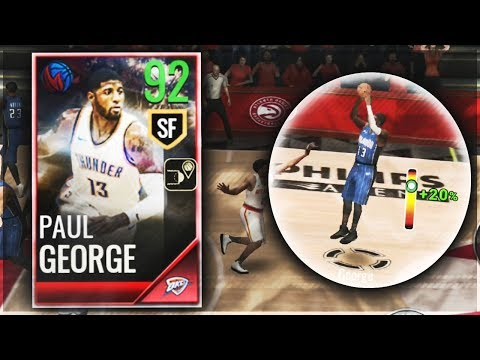 NBA LIVE MOBILE 18 | FESTIVAL MASTER PAUL GEORGE GAMEPLAY/REVIEW!!