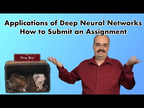 How to Submit Assignment for Application of Deep Learning, at Washington University in St. Louis