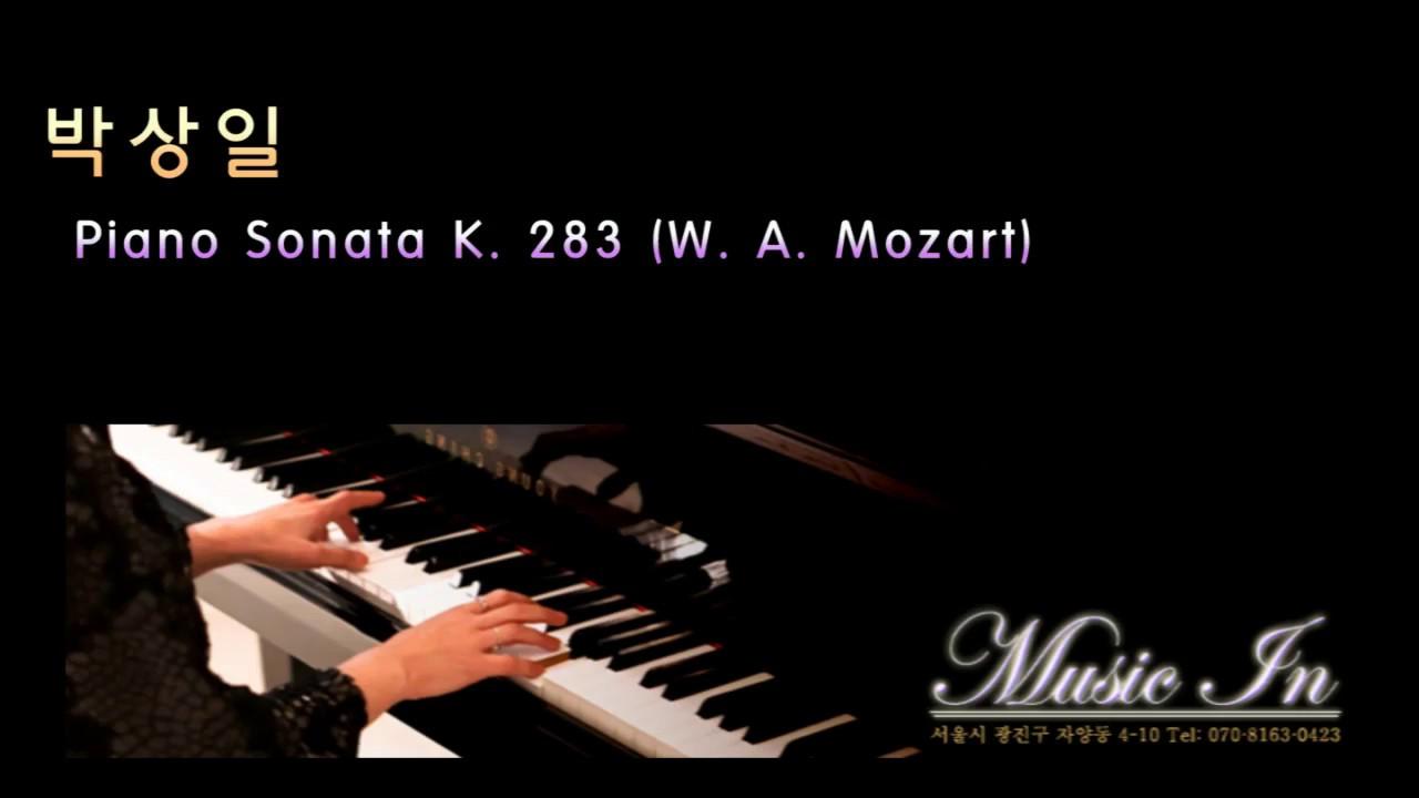 mozart piano sonata k 283 Wolfgang amadeus mozart's piano sonata no 6 in d major, k 284 / 205b, is a sonata in three movements: allegro d major, 4/4 rondeau en polonaise (rondo and.