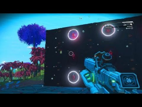 No Mans Sky - Mini game proof of concept: Shooters challenge |