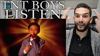 "VOCAL COACH reacts to TNT BOYS singing ""Listen"" by Beyonce"