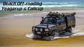 Beach off-roading and camping Yeagarup & Callcup