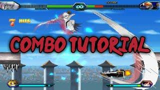 Bleach Vs Naruto 3.2 - Ichigo Kurosaki (Hollow) Combo Tutorial