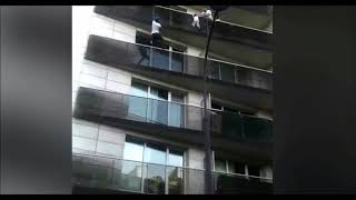 French spiderman rescue a small boy to be made French citizen