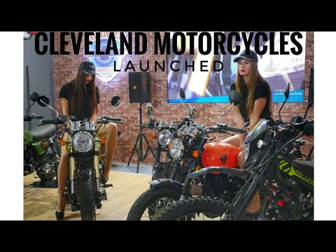 Cleveland motorcycles (affordable cafe racer, dirt bike and scrambler) Auto Expo 2018