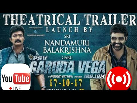 PSV Garuda Vega Trailer Launch by Balakrishna | #LIVE | Rajashekar | Think Think