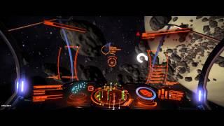 Elite Dangerous Asteroid Belt Dog Fight Part One