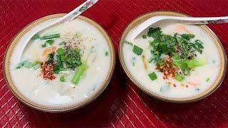 Công Thức Nấu Bánh Canh Tôm Nước Cốt Dừa Bạc Liêu Phương Pháp Làm Sợi Bánh Canh