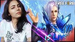 Free Fire Live Girl's Rush Gameplay By Miss Diya | BlackPink Gaming |