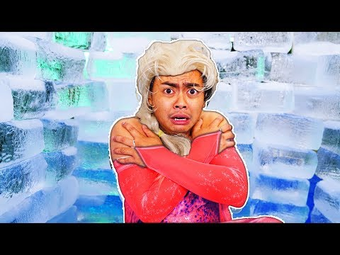 Guava Juice Tries Making an IGLOO for $10,000 (Frozen 2)