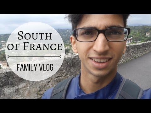 Family Weekend on the French Riviera   VLOG 01   Nice, Monaco, Antibes, Villefranche, Eze
