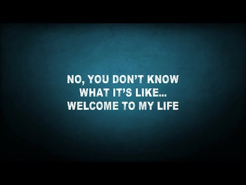 Simple Plan  Welcome To My Life Lyrics