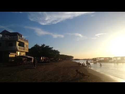 Matabungkay Beach Resort, Philippines sun set south China sea