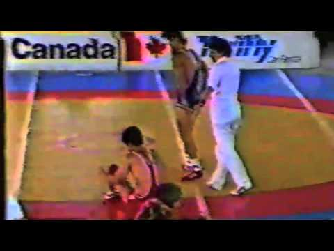 1988 Canada Cup: 57 kg Final Chung (KOR) vs. Mitch Ostberg (CAN)