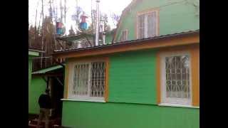 Ветрогенератор вертикальный Маглев в действии(Ветрогенератор Maglev установлен в Московской области. Ветрогенераторы 600Вт., 2012-10-23T13:13:52.000Z)