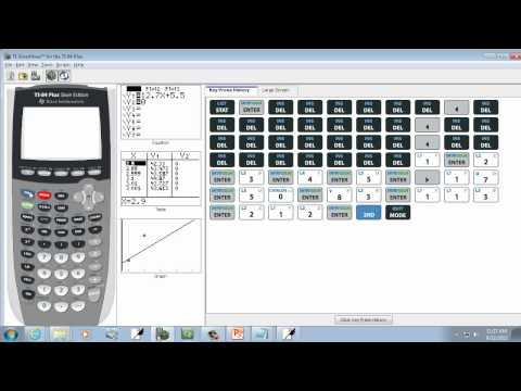 Elementary Statistics: Finding The Coefficient Of Determination On TI-83-84