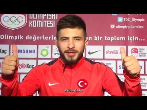 "National wrestler Süleyman Atlı: ""I aim to become an Olympic champion in Rio 2016""."
