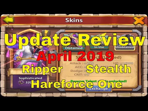 Castle Clash What's New In The April 2019 Update?