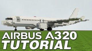 Airbus A320 [1.5:1] Tutorial!!   Minecraft