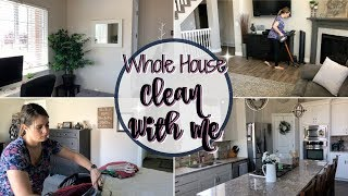 WHOLE HOUSE CLEAN WITH ME 2018 :: EXTREME CLEANING MOTIVATION :: CLEANING FOR VACATION