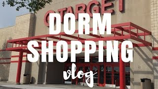 BACK TO SCHOOL | COLLEGE DORM SHOPPING VLOG PART 1