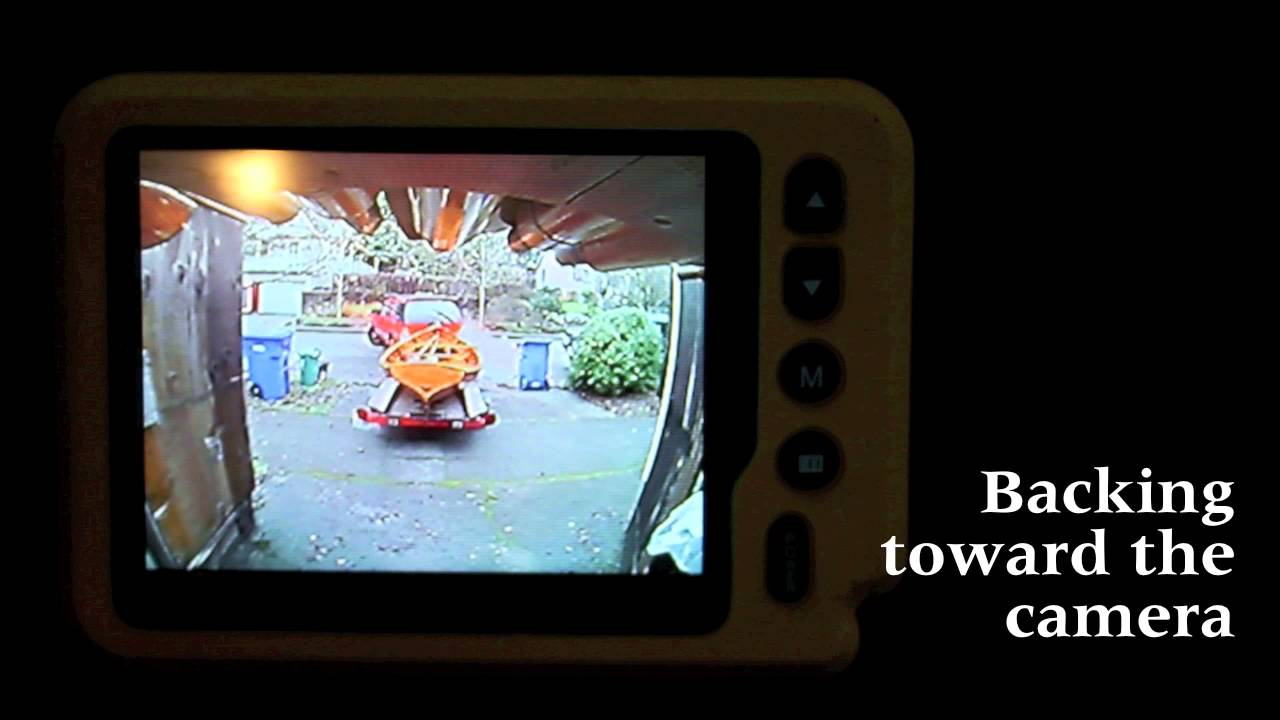 iBall trailer hitch camera  YouTube