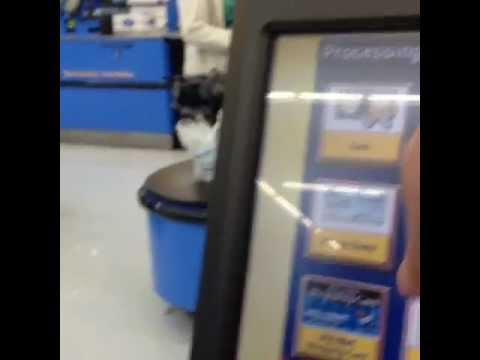 Walmart Self Checkout - YouTube