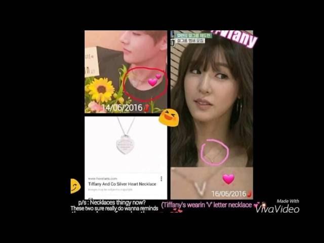 V Bts and Tiffany snsd moments 2 VFany Part 2