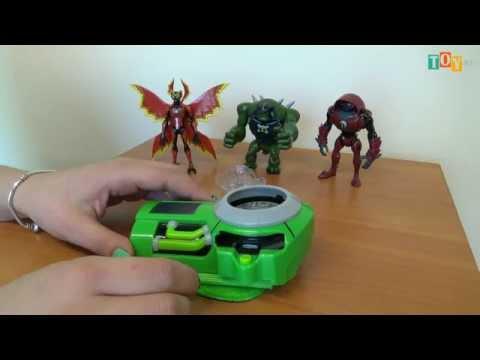 Игрушка Бен 10 (Ben10) Сезон 3 Часы Ультиматрикс дисковые со звуковыми и световыми эффектами