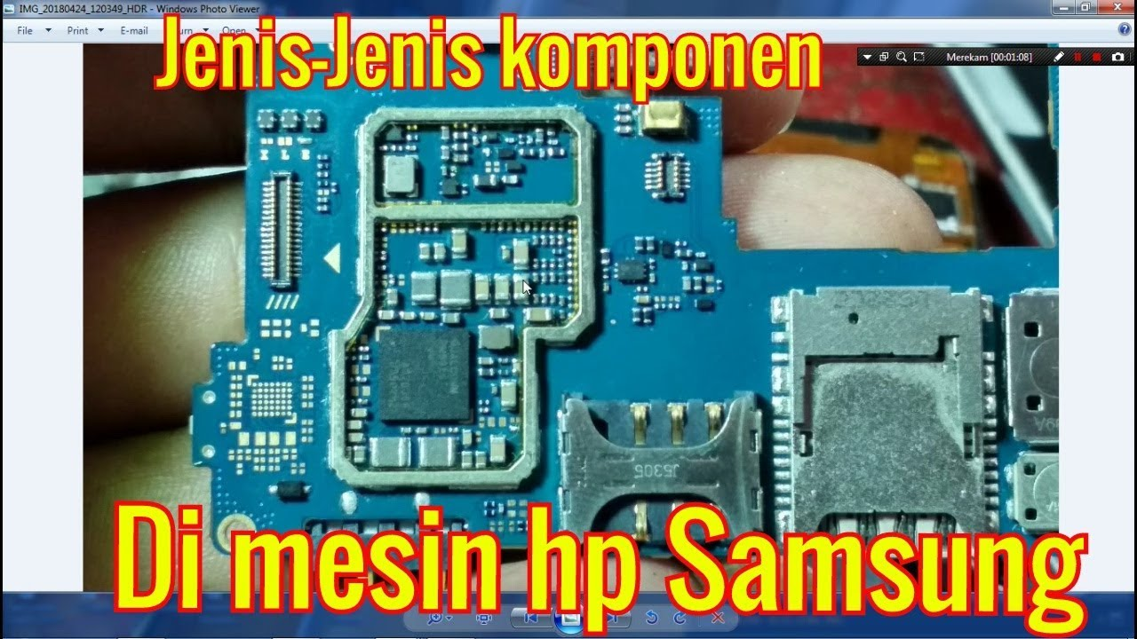 Jenis Jenis Komponen Di Mesin Hp Samsung Youtube