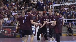 2017-2018 McMaster Men's Volleyball Highlights