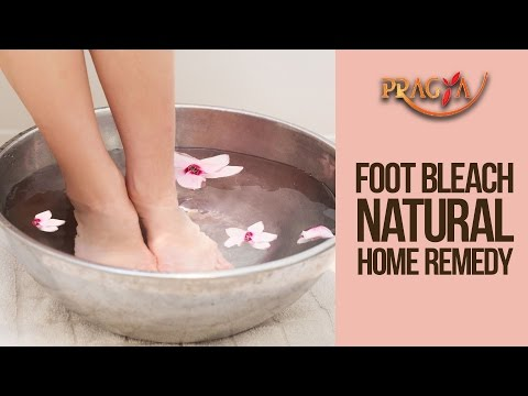 Pedicure At Home-Foot Bleach-Best Home Remedy By Dr. Payal Sinha(Naturopath Expert)