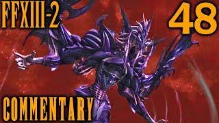 Final Fantasy XIII-2 Walkthrough Part 48 - Jet Bahamut Final Boss (Academia 500 AF)