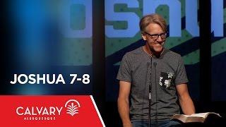 Video Joshua 7-8 - Skip Heitzig download MP3, 3GP, MP4, WEBM, AVI, FLV November 2017