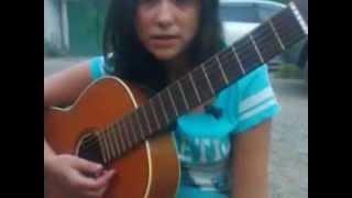 Вечер лавочка гитара)))