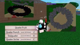 Nouvelle quake Fruit-One Piece Legendary-Roblox attaque