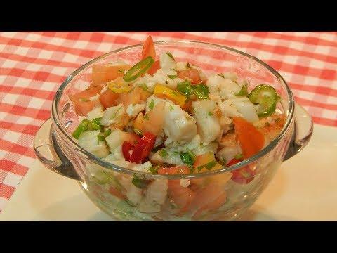 Receta fácil de cebiche de pescado
