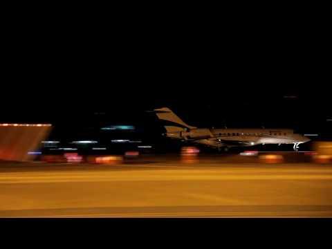 [SBFZ/ FOR] Pouso RWY13 Bombardier Global Express PR-VDR 04/12/2018