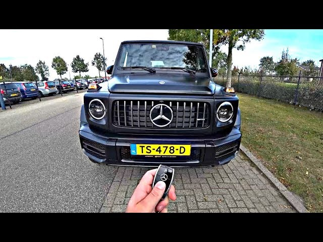 Heres Why This 2019 Mercedes G63 AMG G Wagon is the Best Yet | POV Test Drive