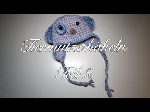 Tiermütze Häkeln Teil 2 - Tiermotiv Mütze Häkeln - MyBoshi Baby Hagi Hundeboshi Häkeln
